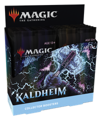 Magic: The Gathering. Дисплей Collectors Kaldheim (eng)