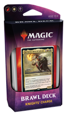 Magic: The Gathering. Brawl Deck Knights Charge. Стартовые колоды
