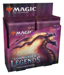 Magic: The Gathering. Дисплей Collectors Commander Legends (eng)