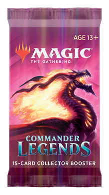 Magic: The Gathering. Бустер Collectors Commander Legends (eng)