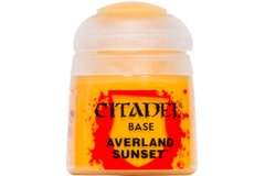 Фарба BASE: AVERLAND SUNSET (12ML)