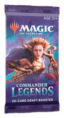 Magic: The Gathering. Commander Legends бустер